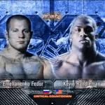 Fedor Emelianenko vs Kevin Randleman 2004 poster.