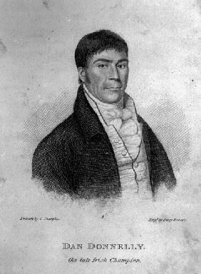 Portrait of Dan Donnelly.