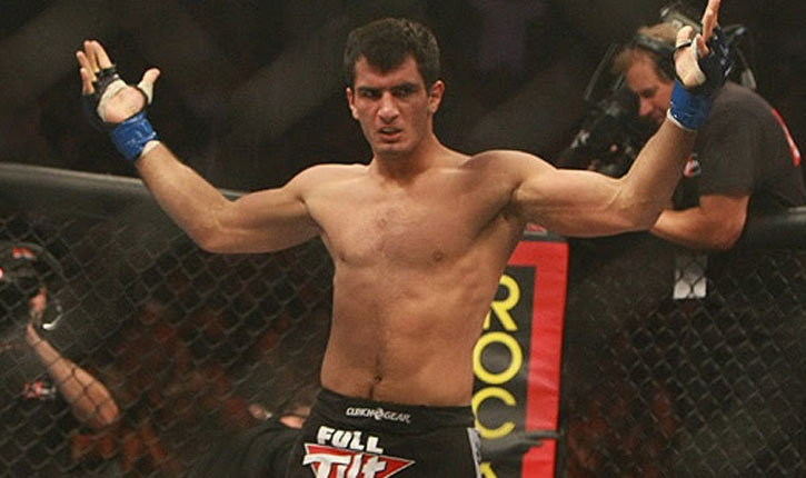 Gegard mousasi as the Strikeforce champion.