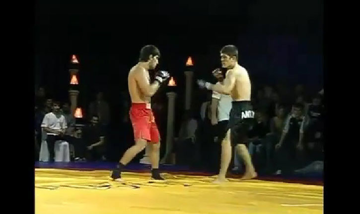 Khabib Nurmagomedov Fights Shamil Abdulkerimov In Russia.