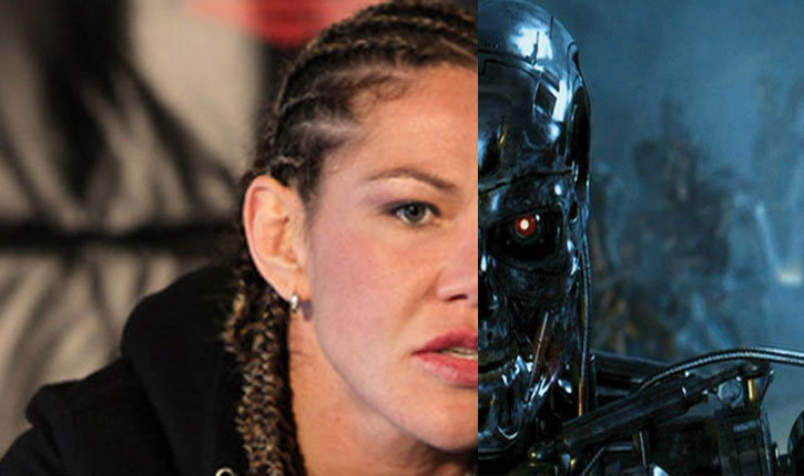 Cris cyborg.