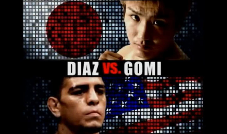 Nick Diaz Vs Takanori Gomi Fighting Pride 33.