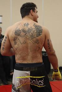 Frank Mir Tattoos.