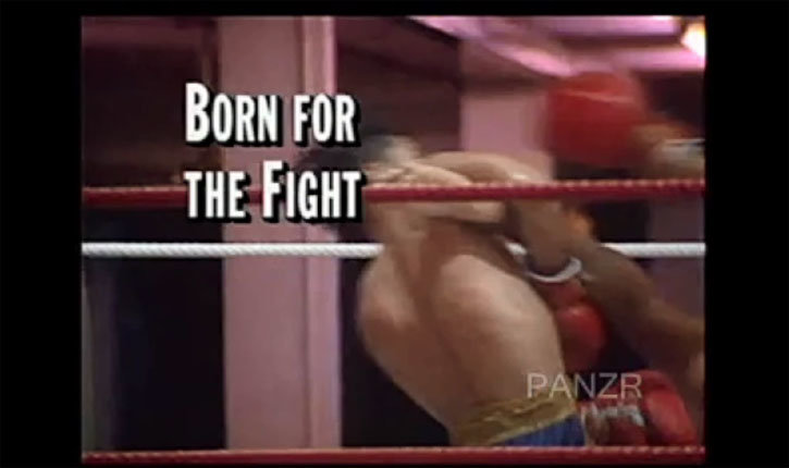 Muay Thai documentary image of two fighters.