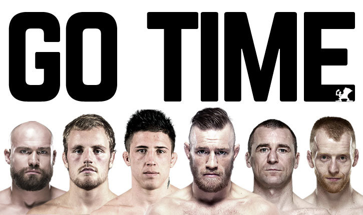 Conor Mcgregor And Other Ufc Dublin Fighters.