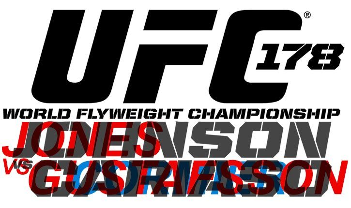 UFC 178 IS ALMOST UPON US.