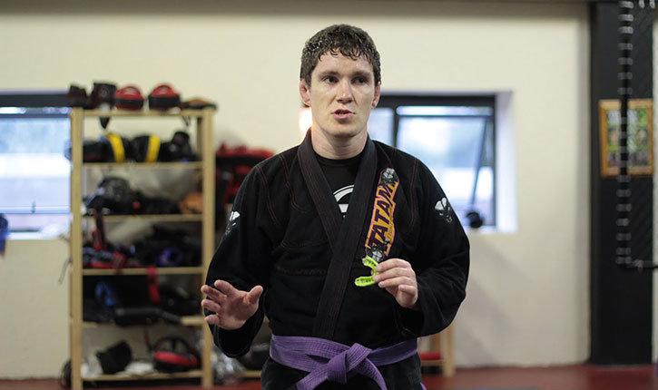 Jiu jitsu World Champion Tim Murphy.