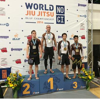 Tim Murphy Jiu-Jitsu No Gi On Winners Podium.