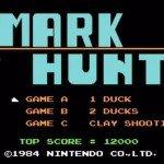 Mark Hunt UFC 180 video game.