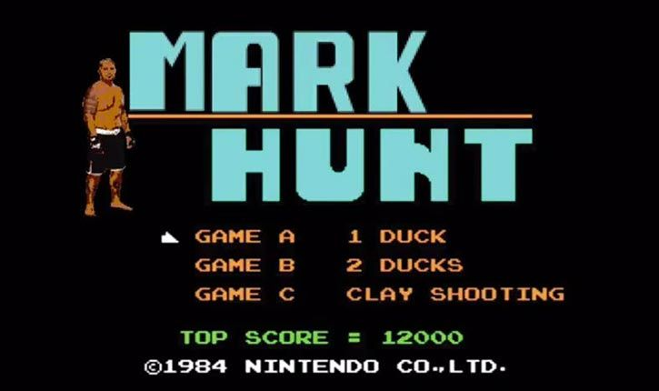Mark Hunt UFC 180.