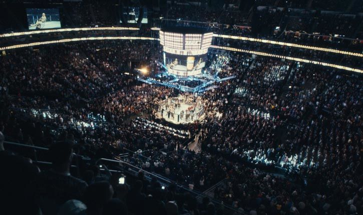 Audience At Ufc Event Photograph.