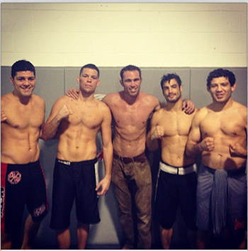 The Skrap Pack Training In Their Stockton California Gym.