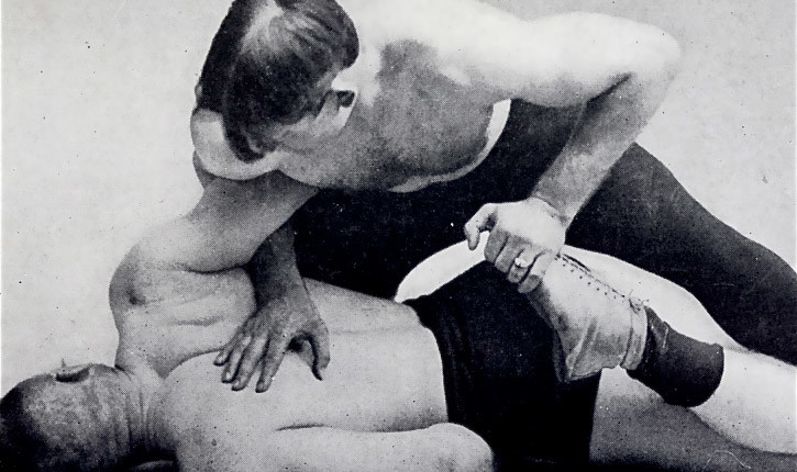 Catch Wrestling Fighting Style Photo.