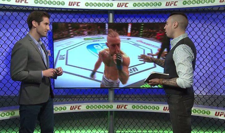 Inside The Octagon UFC Fight Night Boston.