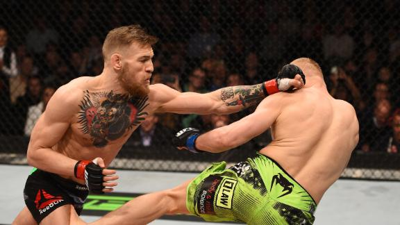 Conor McGregor vs Dennis Siver UFC boston.