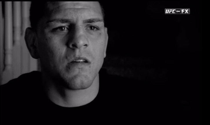 Nick Diaz being interviewed in Stockton California.