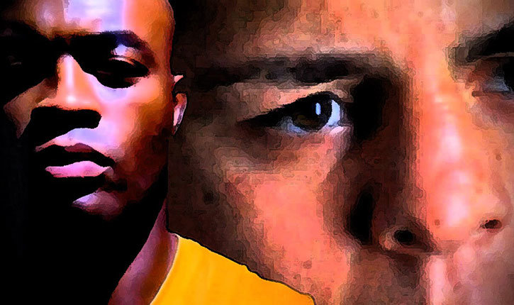Ufc 183 Sees Anderson Silva Vs Nick Diaz Event Poster.