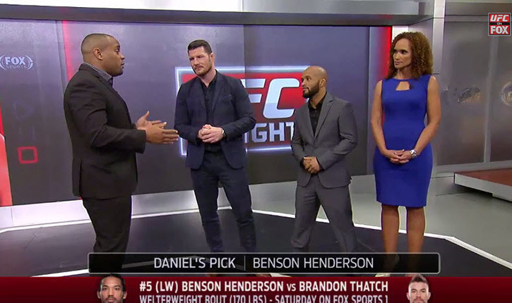 Benson Henderson vs Brandon thatch.