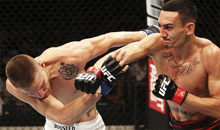 Max Holloway UFC featherweight top ten