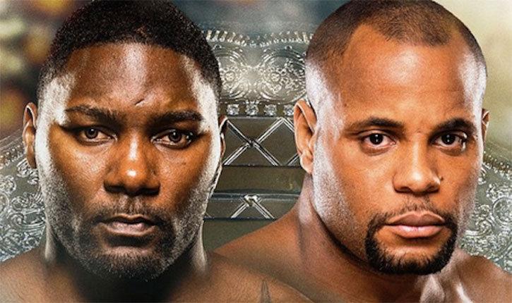 UFC 187 Anthony Johnson vs Daniel Cormier.