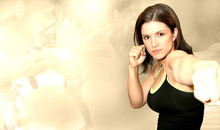 Gina Carano mma fighter.