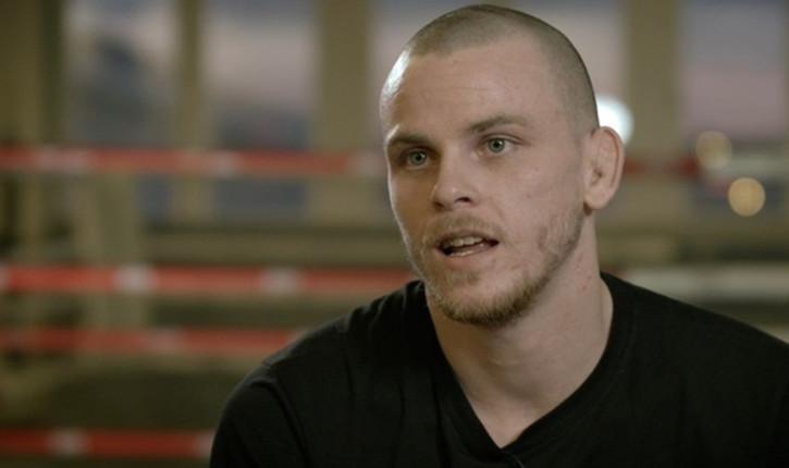 Niklas Backstrom fighting at UFC Berlin