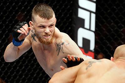 Niklas Backstrom UFC featherweight UFC Berlin.