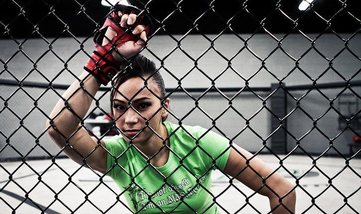 Michelle Waterson UFC fighter.