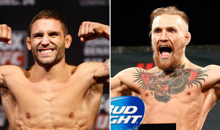 Conor McGregor faces Chad Mendes at UFC 189