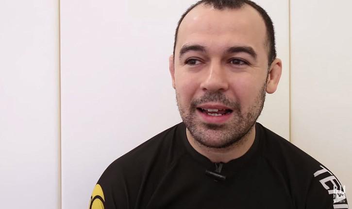 Marcelo Garcia Jiu Jitsu World Champion.