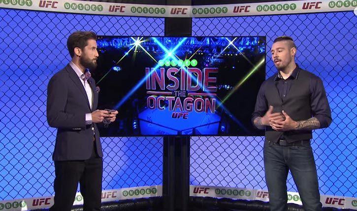UFC 189 Inside The Octagon with Gooden and Hardy.