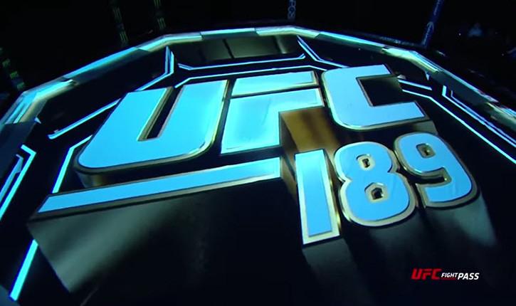 UFC 189 Mendes vs mcgregor.