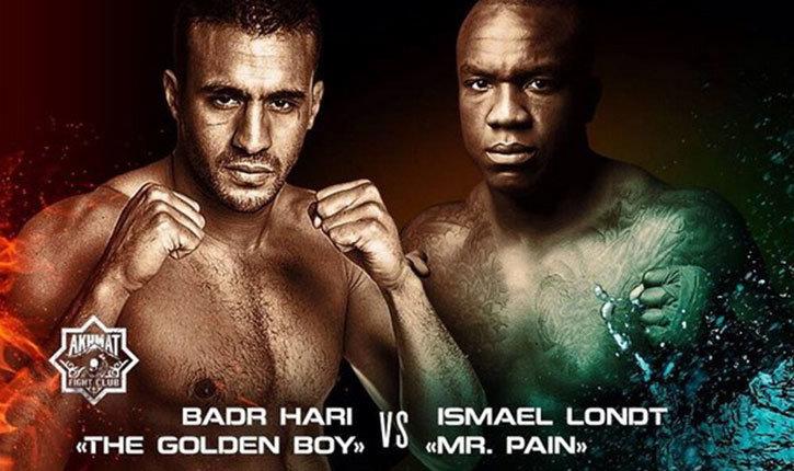 Badr Hari versus Ismael Londt.