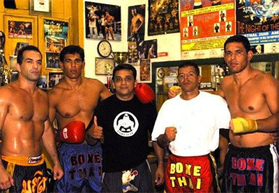 Brazilian Top Team fighters including Sperry and Nogueira brothers.