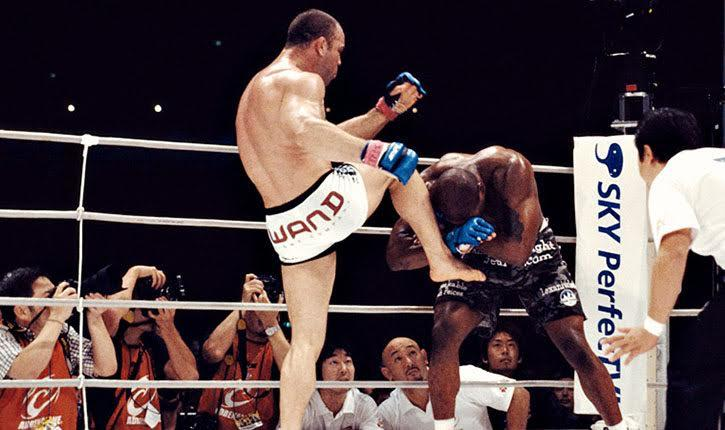 Chute boxe Wanderlai Silva vs Rampage Jackson.