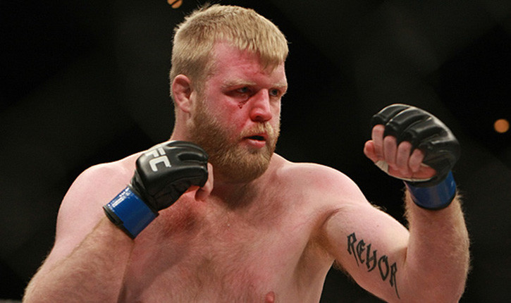 Justin Wren ufc heavyweight fighter.