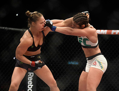 Ronda Rousey Facing Bethe Correia.