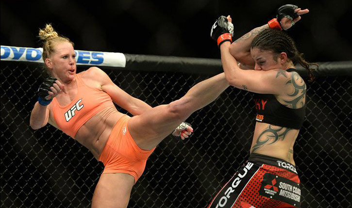 Ronda Rousey faces Holly Holm UFC 193.