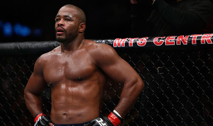 Rashad Evans vs Ryan Bader UFC 161.
