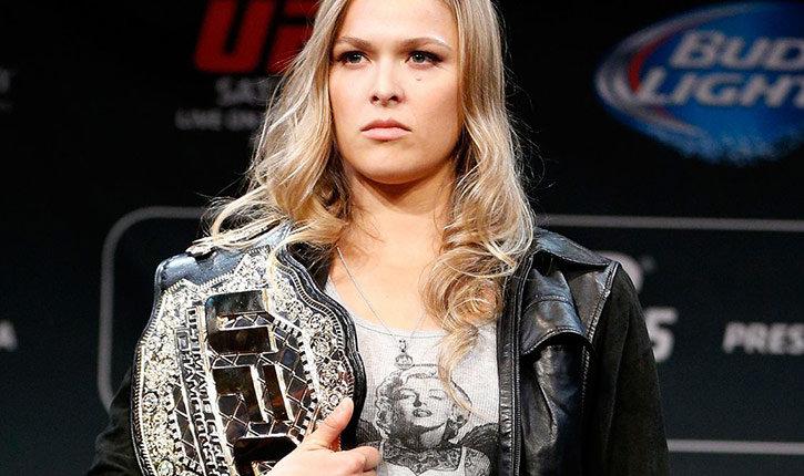 Ronda Rousey Ufc Bantamweight Champion.