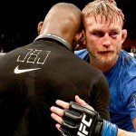 Alexander gustafsson and Jon Jones UFC 165.