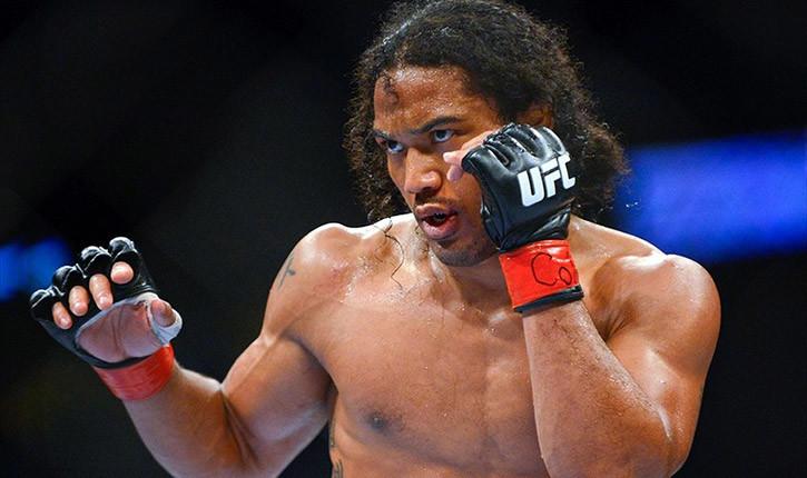 Benson henderson UFC welterweight fighter.