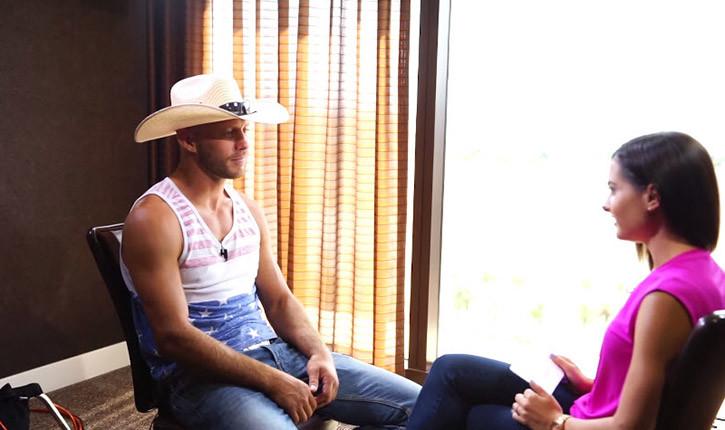 Cowboy Cerrone in Las Vegas.