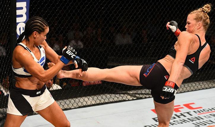 Holly Holm vs Marion Reneau UFC 193.