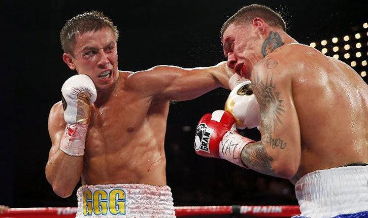 Boxing gennady golovkin.