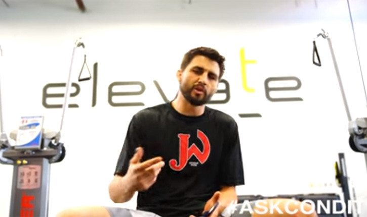 Carlos Condit answering questions episode 2.