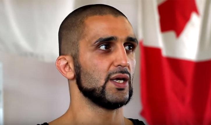 Firas Zahabi tri star gym head coach.