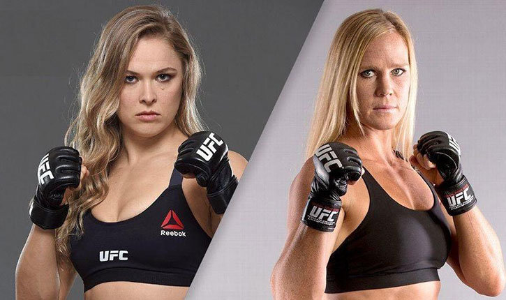 ufc 193 ronda rousey vs holly holm.