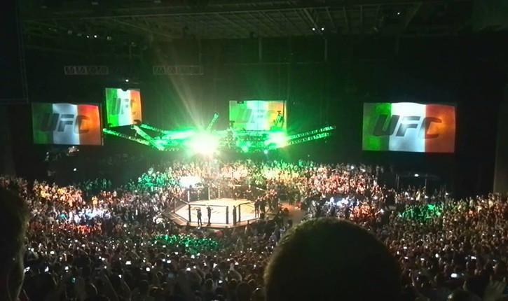 UFC Dublin keego.