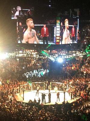 UFC 194 Conor McGregor in MGM Grand.